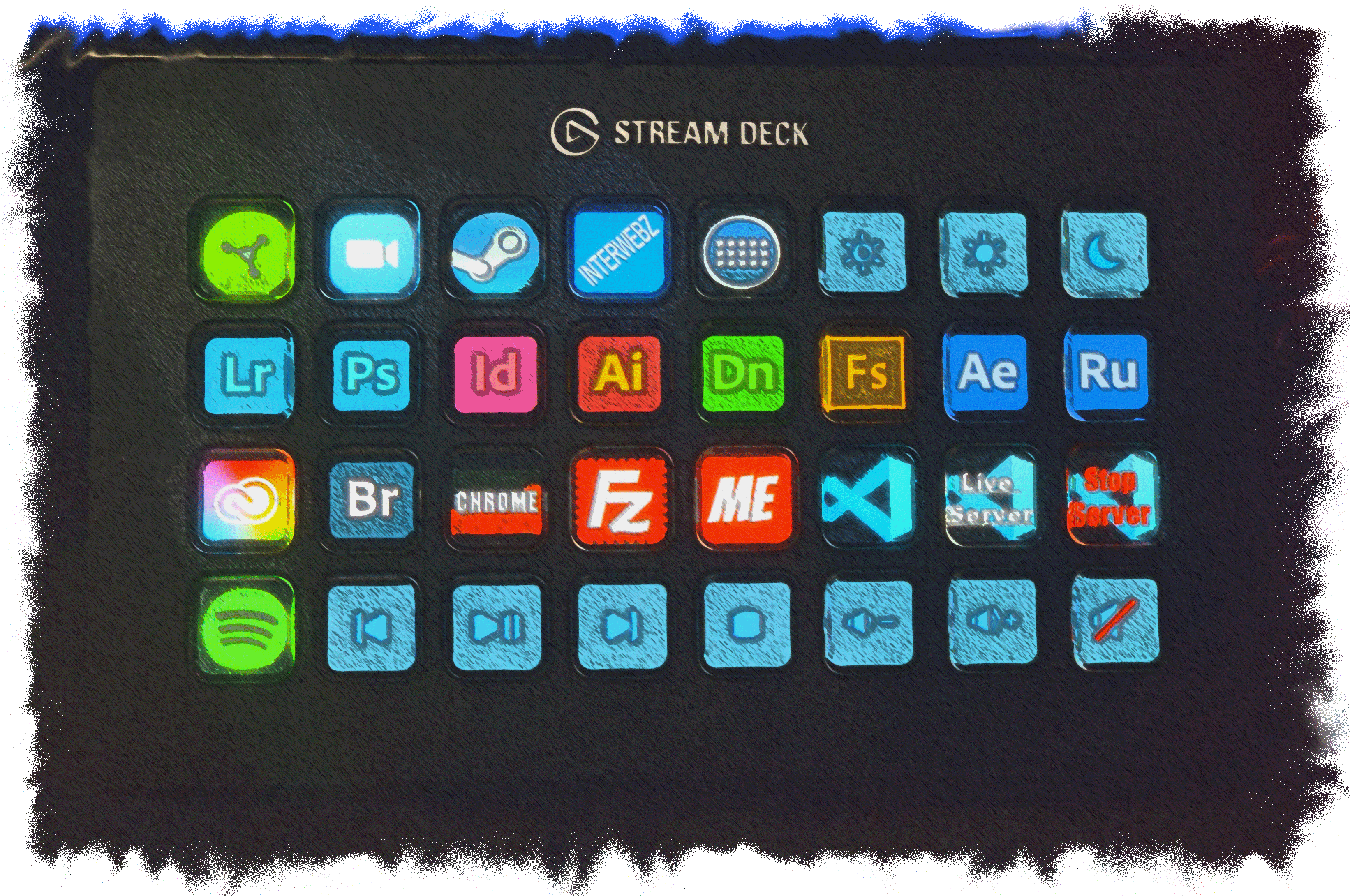 a stream deck box